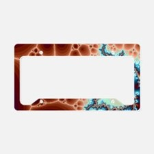 Electric License Plate Holder