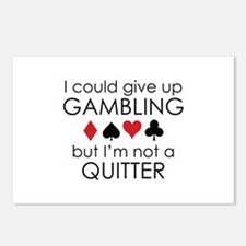 I Could Give Up Gambling Postcards (Package of 8)