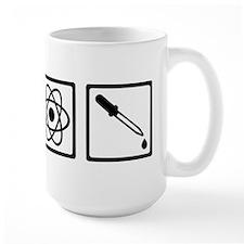 Chemistry atom test tube Mug