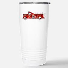 Vintage red fire truck Travel Mug