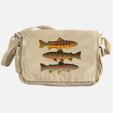 3 Western Trout Messenger Bag