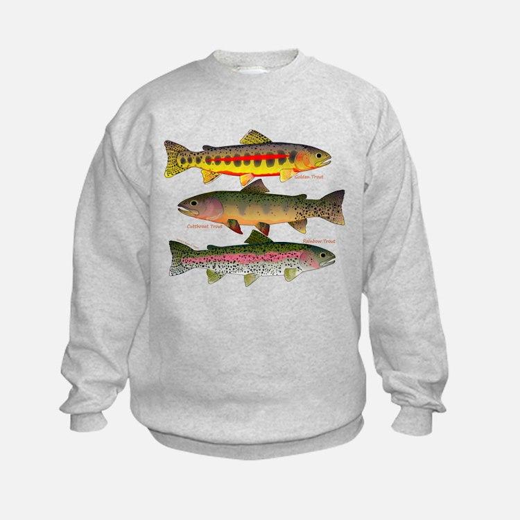 3 Western Trout Sweatshirt