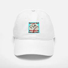 Barry's Ball 756 Baseball Baseball Cap
