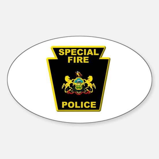 Fire police badge Decal
