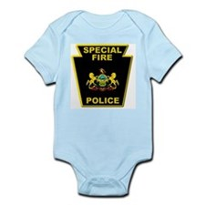 Fire police badge Body Suit