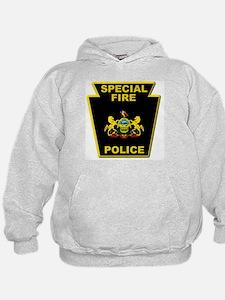 Fire police badge Hoodie