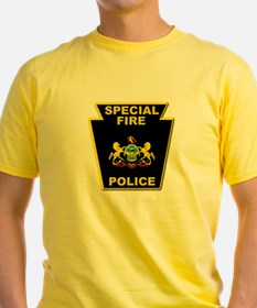 Fire police badge T-Shirt
