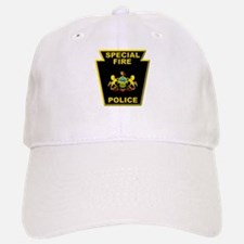 Fire police badge Baseball Baseball Cap