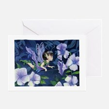 PeasBlossom Fairy Lilac Greeting Card