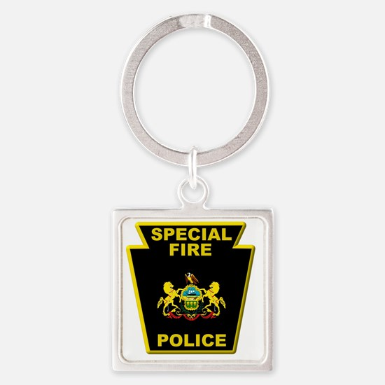Fire police badge Keychains