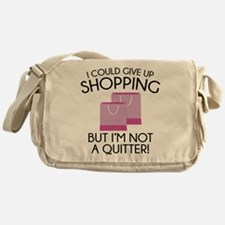 I Could Give Up Shopping Messenger Bag