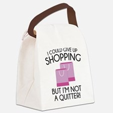 I Could Give Up Shopping Canvas Lunch Bag