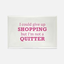 I Could Give Up Shopping Rectangle Magnet