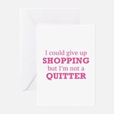 I Could Give Up Shopping Greeting Cards (Pk of 10)