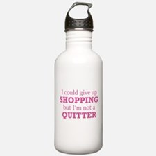 I Could Give Up Shopping Water Bottle
