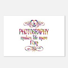 Photography More Fun Postcards (Package of 8)