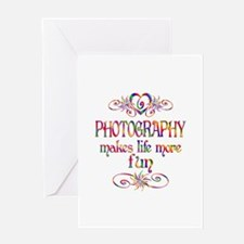 Photography More Fun Greeting Card