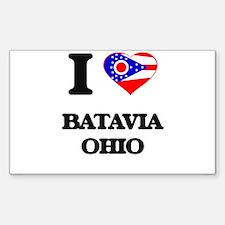 I love Batavia Ohio Decal