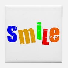 Scott Designs Smile Tile Coaster