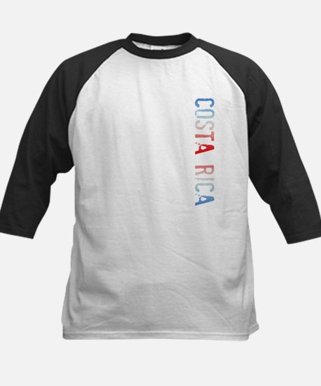 Costa Rica Kids Baseball Jersey