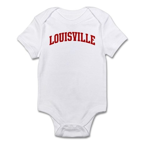 LOUISVILLE (red) Infant Bodysuit