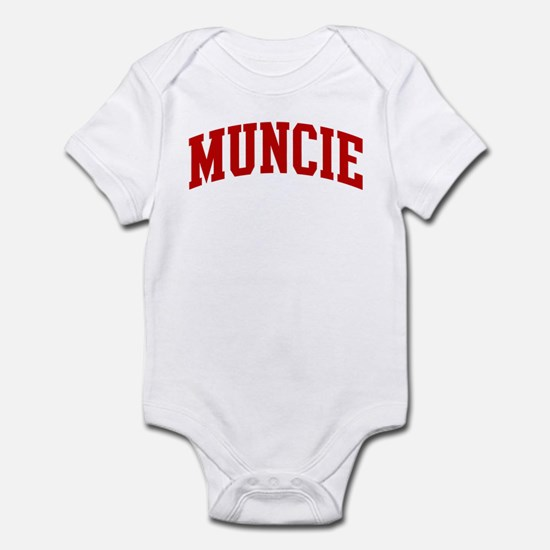 MUNCIE (red) Infant Bodysuit