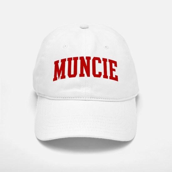 MUNCIE (red) Baseball Baseball Cap