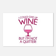 I Could Give Up Wine Postcards (Package of 8)