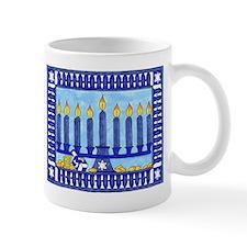 Hanukkah 4 Small Mugs