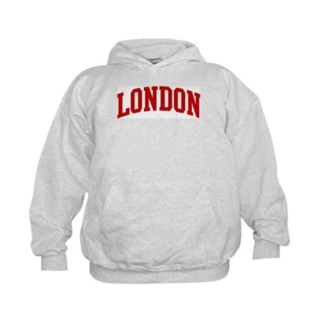 LONDON (red) Kids Hoodie