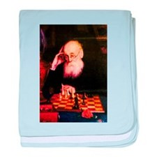 Alexander Petrov Russian Great Chess baby blanket