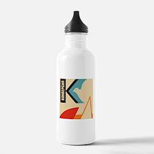 Soviet anti war Propag Sports Water Bottle