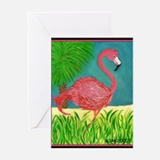 Palm beach Greeting Card