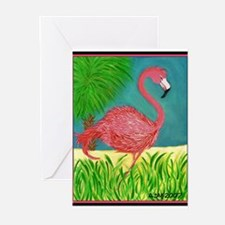 Unique Flamingo Greeting Cards (Pk of 10)