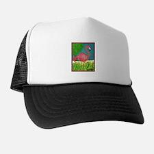 Cute Flamingo Trucker Hat