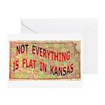 Flat Kansas Greeting Cards (Pk of 10)