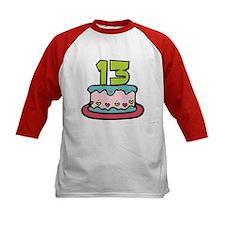13 Year Old Birthday Cake Tee