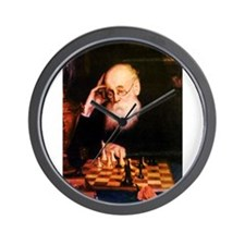 Alexander Petrov Russian Great Chess Ma Wall Clock