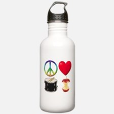 Peace Love Drum Corps Water Bottle