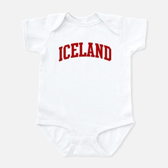 ICELAND (red) Infant Bodysuit