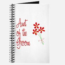 Bouquet Groom's Aunt Journal
