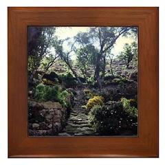 INCA STAIRCASE Framed Tile