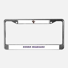 Ozark Hillbilly License Plate Frame