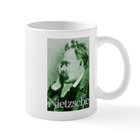 Green Nietzsche Mug
