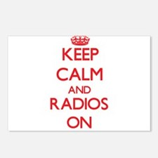 Keep Calm and Radios ON Postcards (Package of 8)