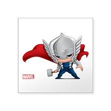 """Thor Stylized Square Sticker 3"""" x 3"""""""