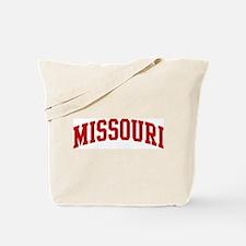 MISSOURI (red) Tote Bag