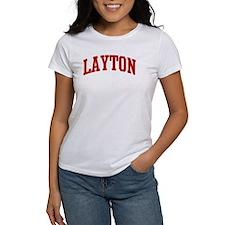 LAYTON (red) Tee