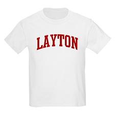 LAYTON (red) T-Shirt