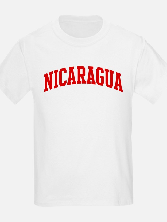NICARAGUA (red) T-Shirt